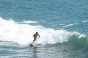 Surfing is a good physical activity. Just be sure to use sunscreen. (Photo by Tim Forkes)