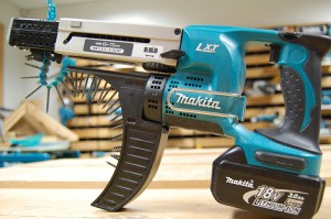Now this is the screwdriver for all the do-it-yourselfers: the Makita Auto-Feed. It will be harder to lose. (Photo via Wiki Commons)