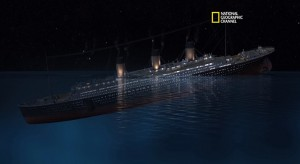 That sinking feeling of regret. (Photo via YouTube video of National Geographic documentary on the Titanic)