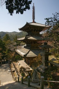 Ichijoji Kasai, Buddhist Temple in Japan (Photo via Wikipedia)