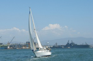 Go sailing (Photo by Tim Forkes)
