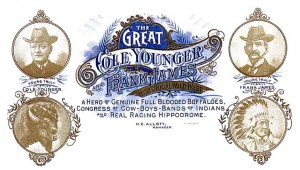 The Cole Younger and Frank James Historical Wild West Show
