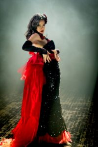 April Showers, the reigning Miss Hollywood Burlesque, will perform at the event. (The Comic Kid Photography)