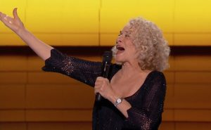 "Carole King singing ""You've Got A Friend"" Thursday afternoon."