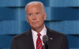 Vice President Joe Biden speaking Wednesday evening.