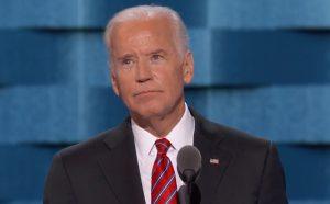 Vice President Joe Biden speaking Wednesday evening.