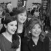 Dawn Wells with fans Melissa and Tammy Morales at the 2017 Mid-Atlantic Nostalgia Convention. (Anthony C. Hayes)
