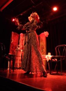 Actress Cindy Marinangel as Marlene Dietrich (credit Sylvia Hoke)