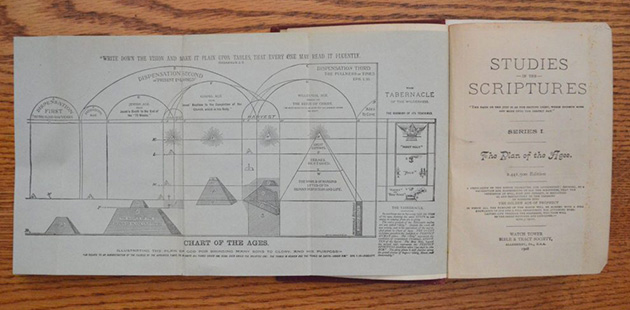 Pyramid chart Watch Tower Divine Plan of the Ages 001 (credit Anthony C. Hayes)